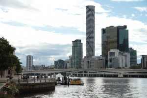 Brisbane from South Bank