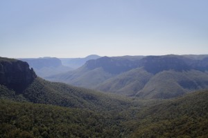 The beautiful Blue Mountains