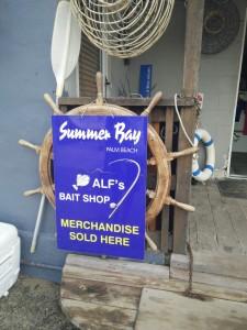 Alf's Bait Shop in Palm Beach